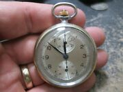 Vintage Heuer Chronograph All Working Pocket Watch