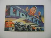 Lionel Mint 1952 Consumer Catalog And Shipping Envelope