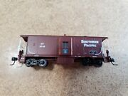 Athearn N Scale Southern Pacific Police Bay Window Caboose 4742