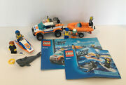 Lego City Sets 60011 And 60012 - Coast Guard 4x4, Diving Boat And Surfer Rescue