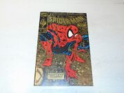 Spider-man Comic - Vol 1 - No 1 - Date 10/1990 - Gold Cover - 2nd Printing ...