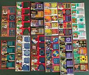 Casino Gambling Theme Instant Sv Lottery Ticket Sets, 12 Diff, 56 Diff Tickets