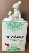 Dept 56 Snowbabies Chilly Chick Chat 4027351 Mib Retired 2012