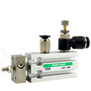 H● Smc Cduk10-25d Free Mount Cylinder With Auto Switch Stroke 0.21mm