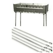 10 Portable Grill Barbeque Mangal Bbq Kabab Outdoor Stove Skewer Brazier
