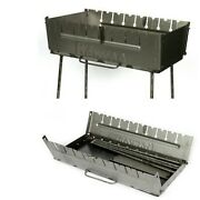 8 Portable Grill Barbeque Mangal Bbq Kabab Outdoor Stove Skewer Brazier