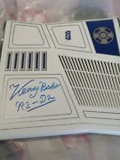 Signed Kenny Baker R2d2 Star Wars Xbox 360 With Kinnect