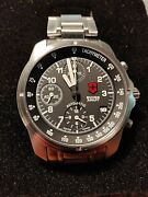 Victorinox Swiss Army Air Force 9g-600 Automatic Chronograph Swiss Model 24461