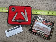 Schrade Old Timer 100 Anniversary Knife 34ot Made In Usa Lot15274