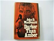 Darker Than Amber, By John D. Macdonald, 1st Printing Of First American Edition