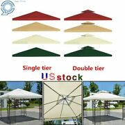 Gazebo Canopy Top Replacement Patio Outdoor Sunshade Cover Us