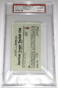 Babe Ruth 1931 Ticket Stub Yankeesvsred Sox- Ruth Double 425 Lou Gehrig Hit Psa