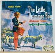 The Little Drummer Boy - The Harry Simeone Chorale - Vinyl Christmas Lp Record