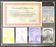 1986 Topps Garbage Pail Kids Os3 King-size Kevin 4 Proof/neg/ace Set Topps Vault