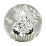 Arcade Joystick Crystal Light Up Ball Top Color Is Clear By Retroarcade.us