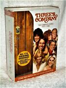 Threes Company Complete Series 1977-1984 Dvd 2014 Suzanne Somers John Ritter