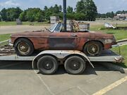 62-65 Mg Mgb Convertible Top Frame Bows Stow Away Type Oem