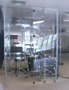 Drum Booth Sound Booth Fully Enclosed With A Door