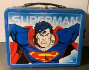 1998 Superman Lunchbox No Thermos