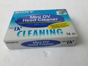 1 Sony Usa Mini Dv Head Cleaning Cassette For Jvc 3ccd Pro Camcorders