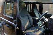 Land Rover Defender Xs Front Seat Set Pair Full Leather Highback Heated