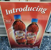 Rare Pepsi Jazz Discontinued Soda, Soft Drink Advertisng Store Sign