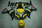 Aftermarket Abs Injection Plastic Fairings For Yamaha Yzf R1 09-11 Yellow Black