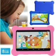 7 Kids Tablet Android Quad Core 8gb Wifi Boys Girl Gift For Education Learning