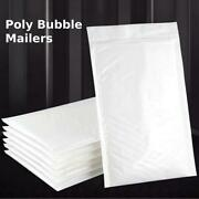 Poly Bubble Mailer Padded Envelope Shipping Bag Self Sealing - All Size