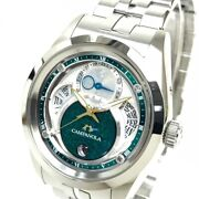 Citizen Bu0040-57l8730-t025242 Day Date Campanola Eco Drive Moon Phase Watch
