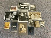 Lot Of Mixed Antique Photos-cars-people