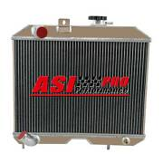 3 Row Aluminum Radiator For 1941-1952 Jeep Willys Mb Cj-2a M38andford Gpw 1951 Pro