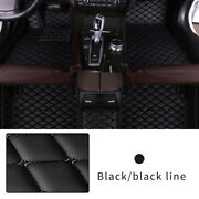 All Weather Floor Mat For 2008 Hummer H2 Full Protection Car Accessories Black