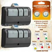 2 For 893lm Liftmaster Remote Transmitter Garage Door Security+ 2.0 Learn