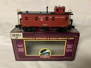 ✅mth Premier Baltimore Ohio Lighted Steel Caboose 20-91169 For Bando Steam Engine