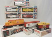 ✅complete Lionel Fast Food Freight Set Burger King Gp-20 And Cars 6-8160 O Gauge