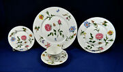 20-pcs Of Limoges, France Ceralene Mon Jardin Pat By A. Raynaud And Co. China