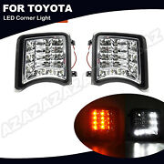 Switchback Led Turn Signal Light /daytime Running 2-in-1 For Toyota Prius 09-11