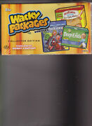 2013 Wacky Packages Stickers Collector Edition Hobby Box Sealed 14 Packs