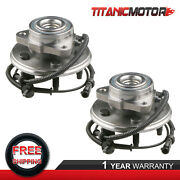 2pcs Front Wheel Hub Bearing Assy For Ford Explorer Mercury Mountaineer W/ Abs