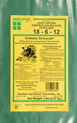 Long Lasting Controlled Release Fertilizer 18-6-12 Contains Osmocote -5 Lb.