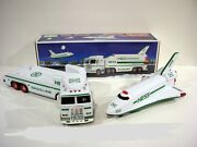 Hess Toy Truck And Space Shuttle With Satellite 1