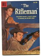 Rifleman 1009 1959-dell-1st Issue-chuck Connors-johnny Crawford-tv Edition-fn+