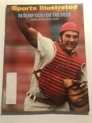 1972 Sports Illustrated Cincinnati Reds Johnny Bench Redemption Look At Huge Arm