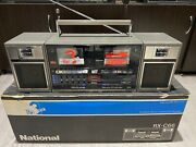 National Rx-c66 Stereo Boombox