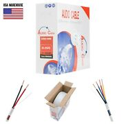In Wall Audio Speaker Wire 16/2 16/4 16awg Conductor Cable 50 100 250 500ft Lot