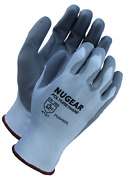 144 Pairs Nugear Polyurethane Pu Palm Coated Protective Safety Work Gloves