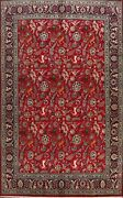 Traditional Tebriz Floral Animal Design Area Rug Dining Room Hand-knotted 8and039x11and039