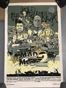 Tyler Stout Mad Max 2 Mondo Poster Artist Proof The Road Warrior Super Rare