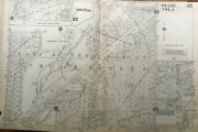 1947 University Of Miami Fl Coral Gables W. Dixie Highway To Midway Atlas Map